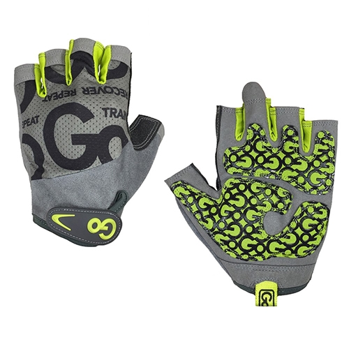 Găng tay tập Gym nữ Women's Go Grip Training Gloves, Green/Gray