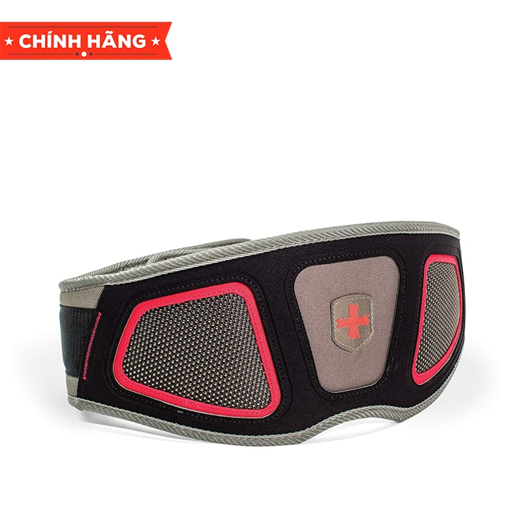 Harbinger Flexfit Contour Belt Red, 6 inch