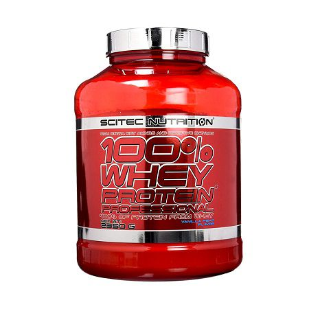 Scitec Nutrition 100% Whey Protein Professional, 2350 Gams (78 Servings)
