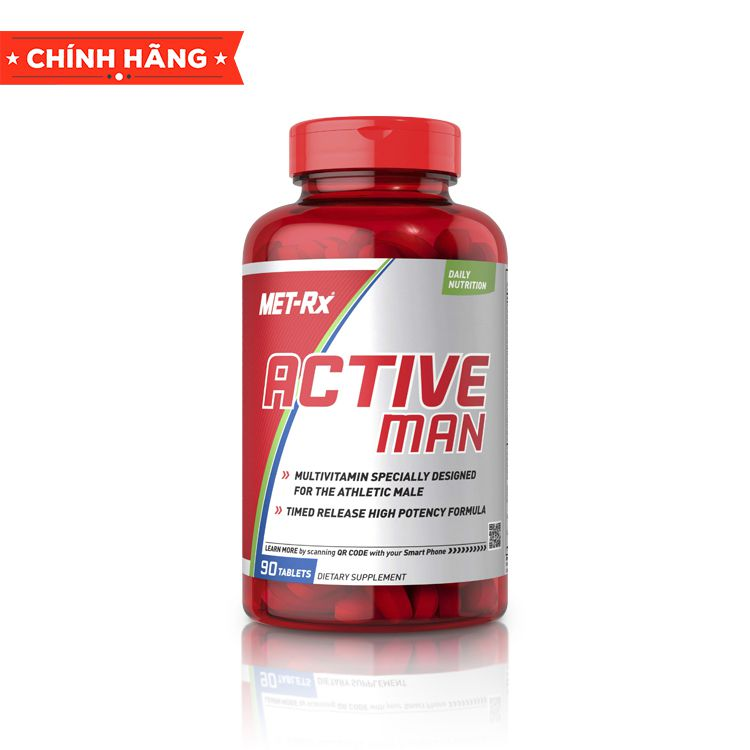 Met-Rx Active Man, 90 Tablets