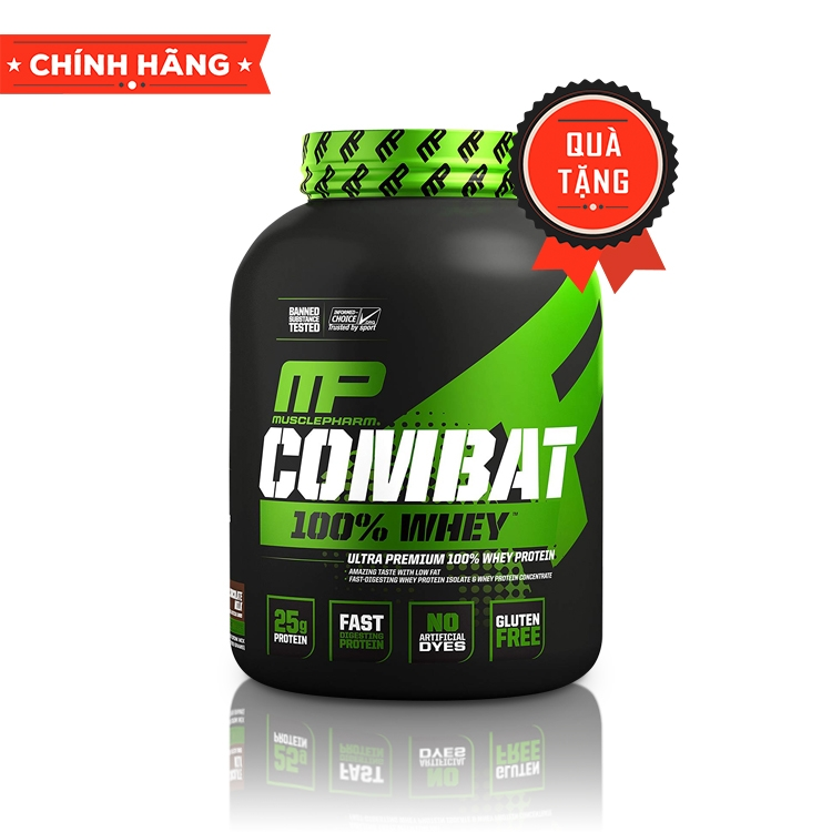 MusclePharm Combat 100% Whey, 5 Lbs (2.27Kg)