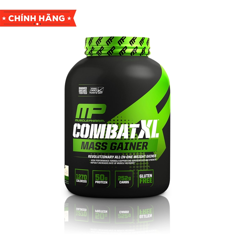 MusclePharm Combat XL Mass Gainer Powder, 6 Lbs (2,7Kg)