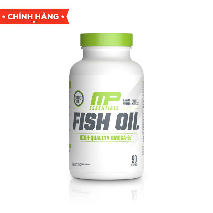 Dầu cá MusclePharm Fish Oil