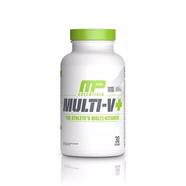 Musclepharm Multi-V+ Multi-Vitamin, 60 Tablets