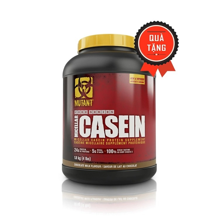Mutant Micellar Casein, 4 Lbs (52 Servings)