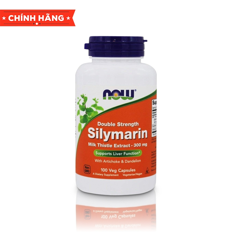 NOW Silymarin Milk Thistle Extract - 300mg, 100 Veg Capsules