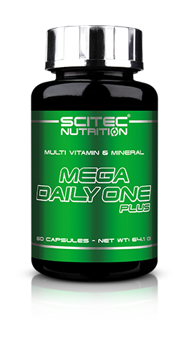 Scitec Mega Daily One Plus Multi Vitamine - 60 Sofgel