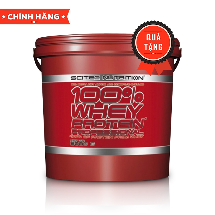 Scitec Nutrition 100% Whey Protein Professional, 5.0 Kg  (166 Servings)