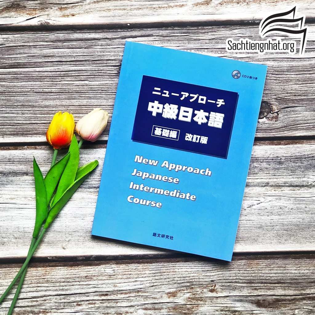 Nyuu Apurochi Chukyu Nihongo (Sách+CD) New approach Intermediate