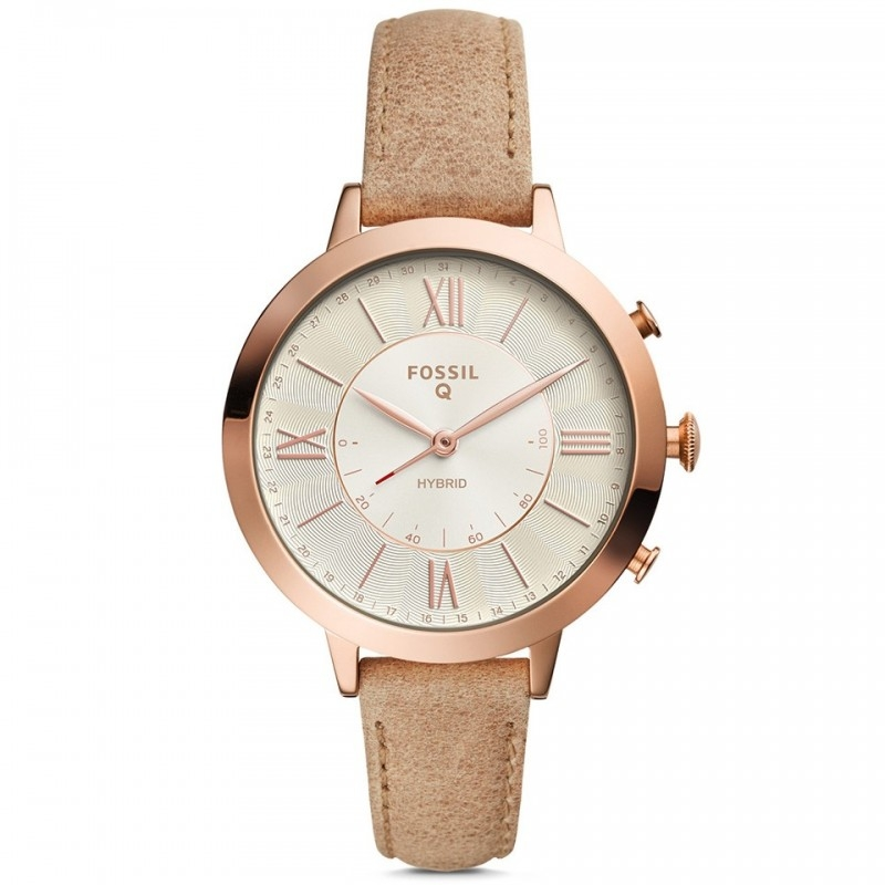 FOSSIL Hybrid Smartwatch - Q Jacqueline Bone Leather FTW5013