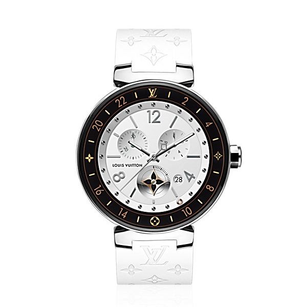 Louis Vuitton Tambour Horizon Monogram 42 (White)
