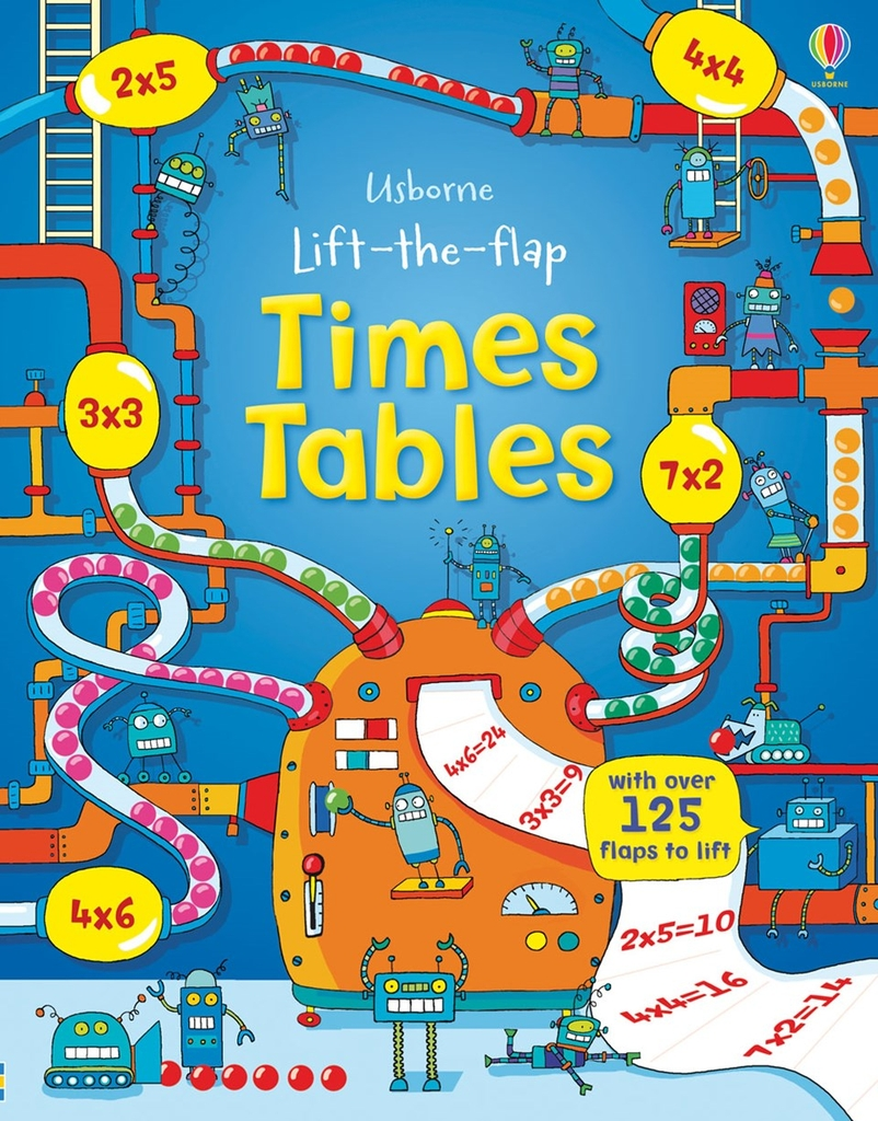 Lift the flap Times and Tables - Sách hay cho bé