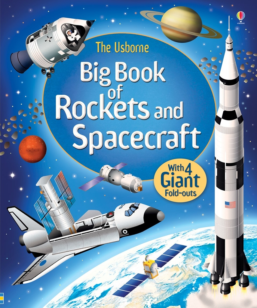 BIG BOOK ROCKETS & SPACECRAFT