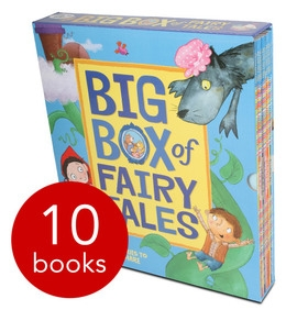 Big Box of Fairy Tales x 10 PB slipcase