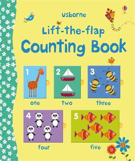 Lift the flap counting book - Tiếng Anh cho bé