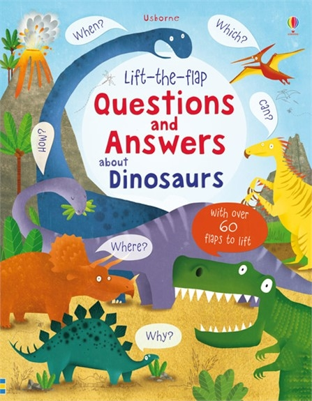 Question and answer dinosaurs
