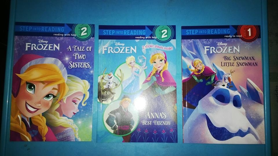Frozen set 3 cuốn