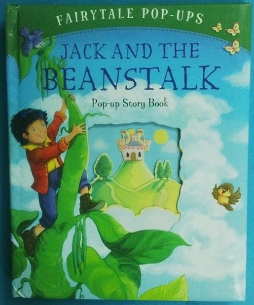 Pop up jack and beanstalk