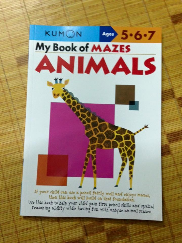 Kumon animal maze