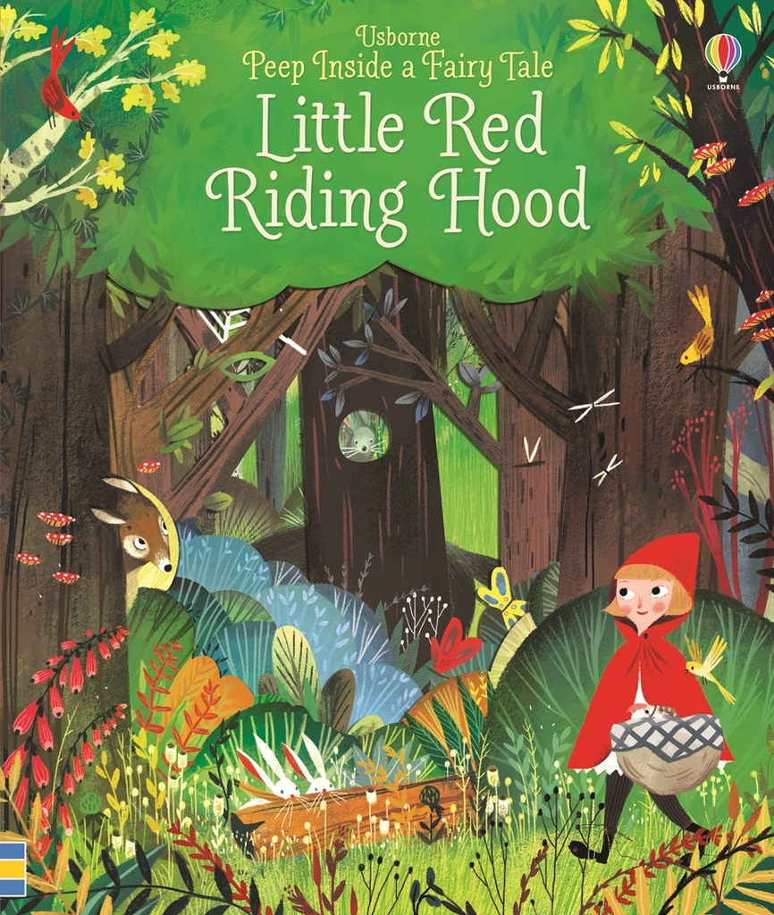 Peep inside little red ridding hood