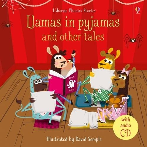 Llamas in pyjamas and other tales (bind-up of six titles) w CD
