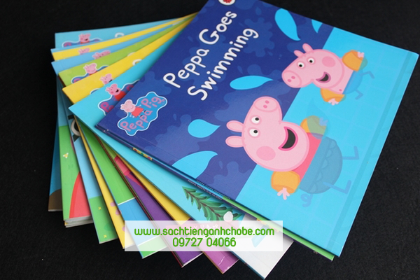 Peppa pig 10 books