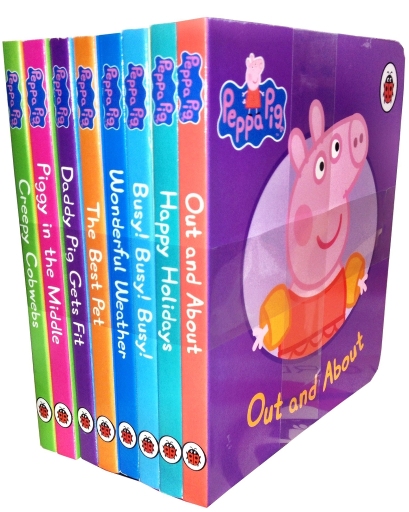 Peppa Pig Collection x 8 BB s/w