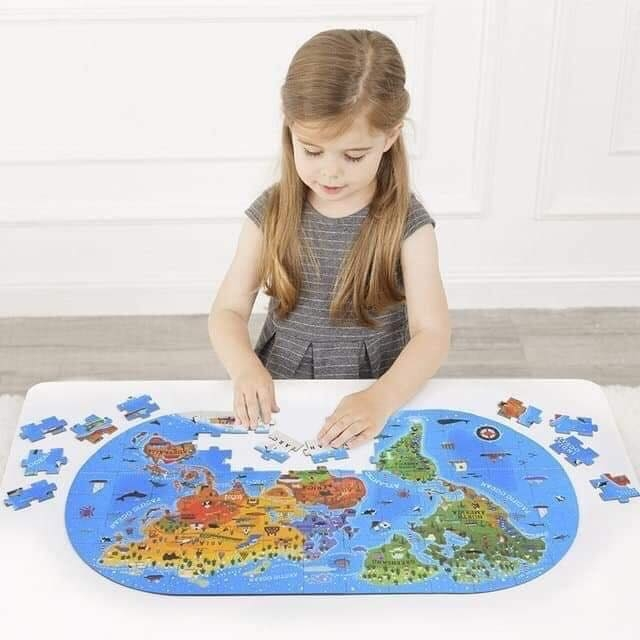 Puzzle Mideer - Xếp hình Our World 2