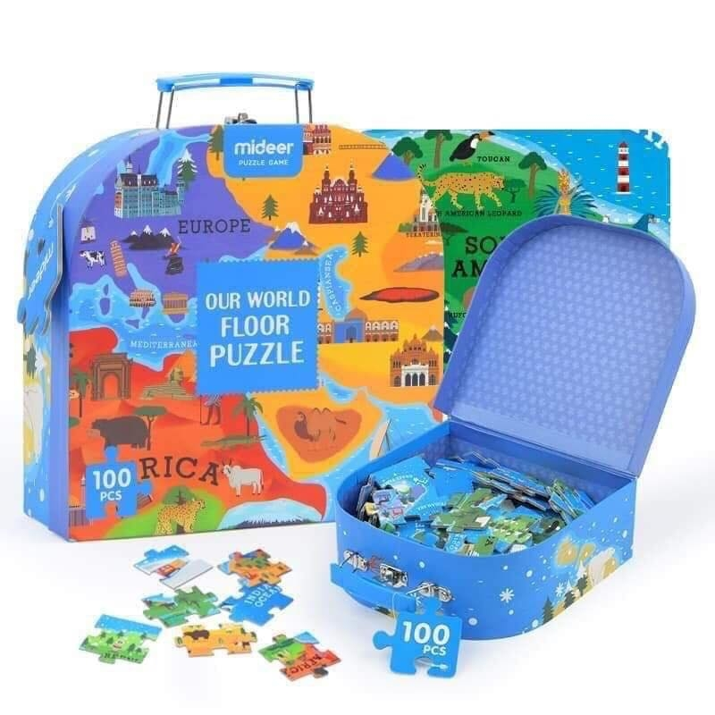 MIDEER PUZZLE OUR WORLD - 100 miếng