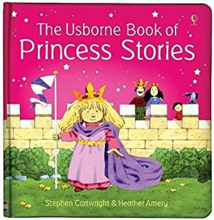 The Usborne Book of Princess Stories  (bind-up)
