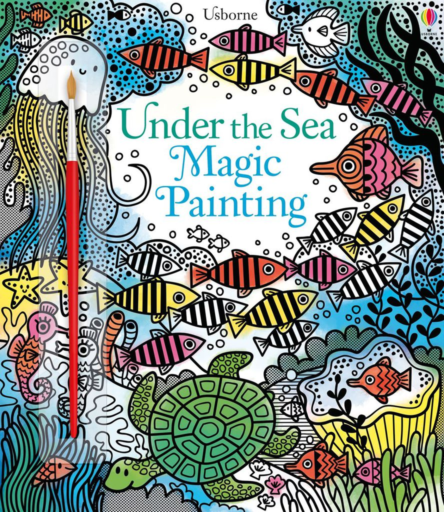 UNDER THE SEA MAGIC PAINTING