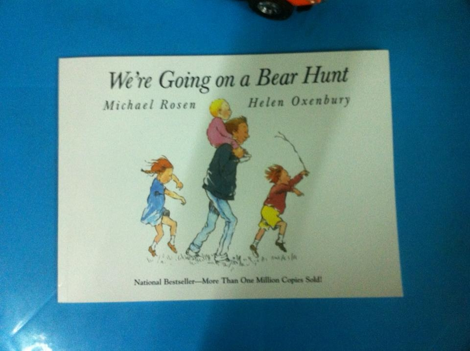 we are going to bear hunt
