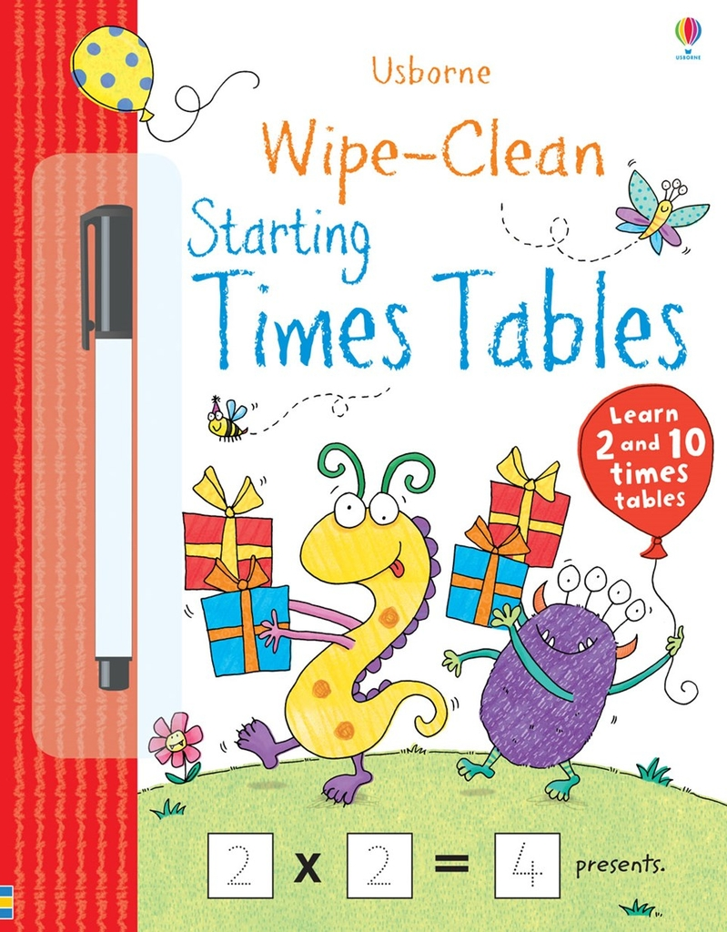 Wipe-clean Books: Starting Times Tables