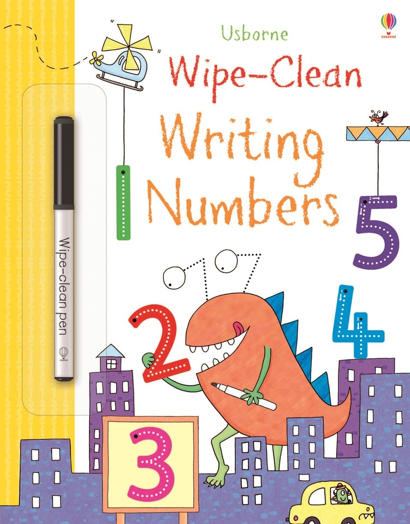 Wipe-clean Books: Writing Numbers
