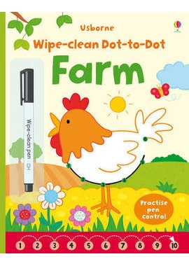 WIPE-CLEAN DOT-TO-DOT FARM