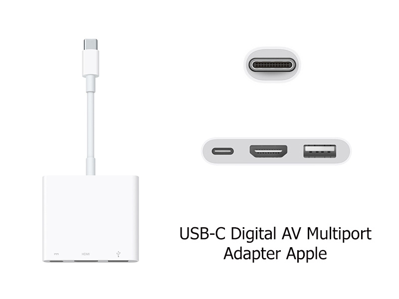 Cáp chuyển đổi Apple USB-C Digital AV Multiport Adapter