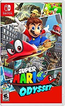 Game SUPER MARIO ODYSSEY Nintendo Switch New