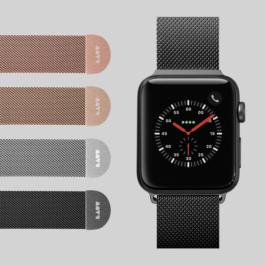 Dây đeo LAUT Steel Loop Watch Strap For Apple Watch 44mm/42mm