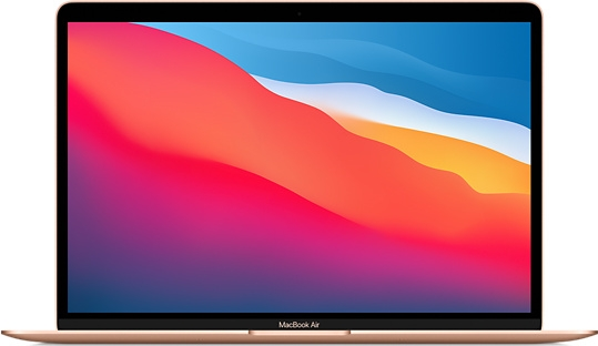 MacBook Air Late 2020 M1 256GB - Gold MGND3 NEWSEAL