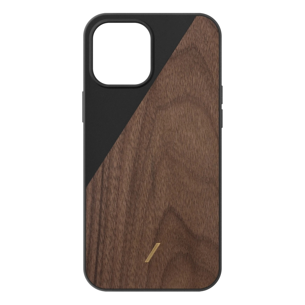 Ốp lưng Native Union iPhone 12 Pro Max Clic Wooden
