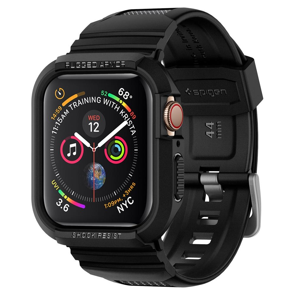 Ốp lưng Apple Watch Series 5 / 4 (44mm) SPIGEN Case Rugged Armor Pro