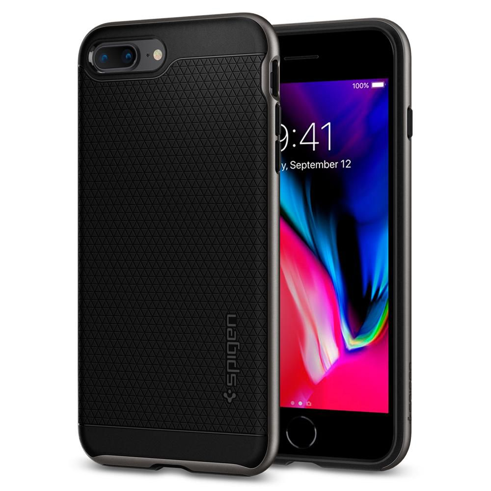 Ốp lưng SPIGEN iPhone 8 Plus Case Neo Hybrid 2 - Gunmetal