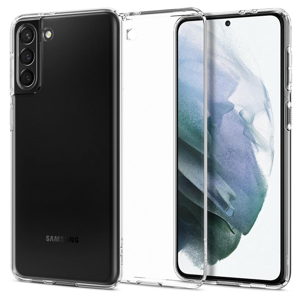 Ốp lưng SPIGEN Samsung Galaxy S21 Plus Case Crystal Flex