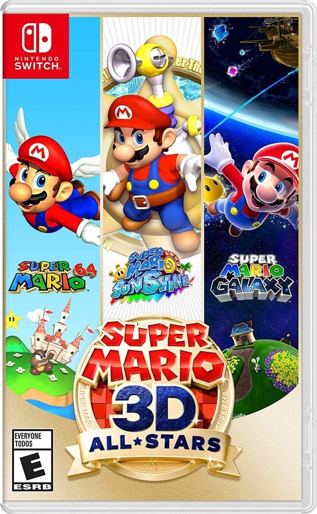 Game Super Mario 3D All Stars Nintendo Switch New