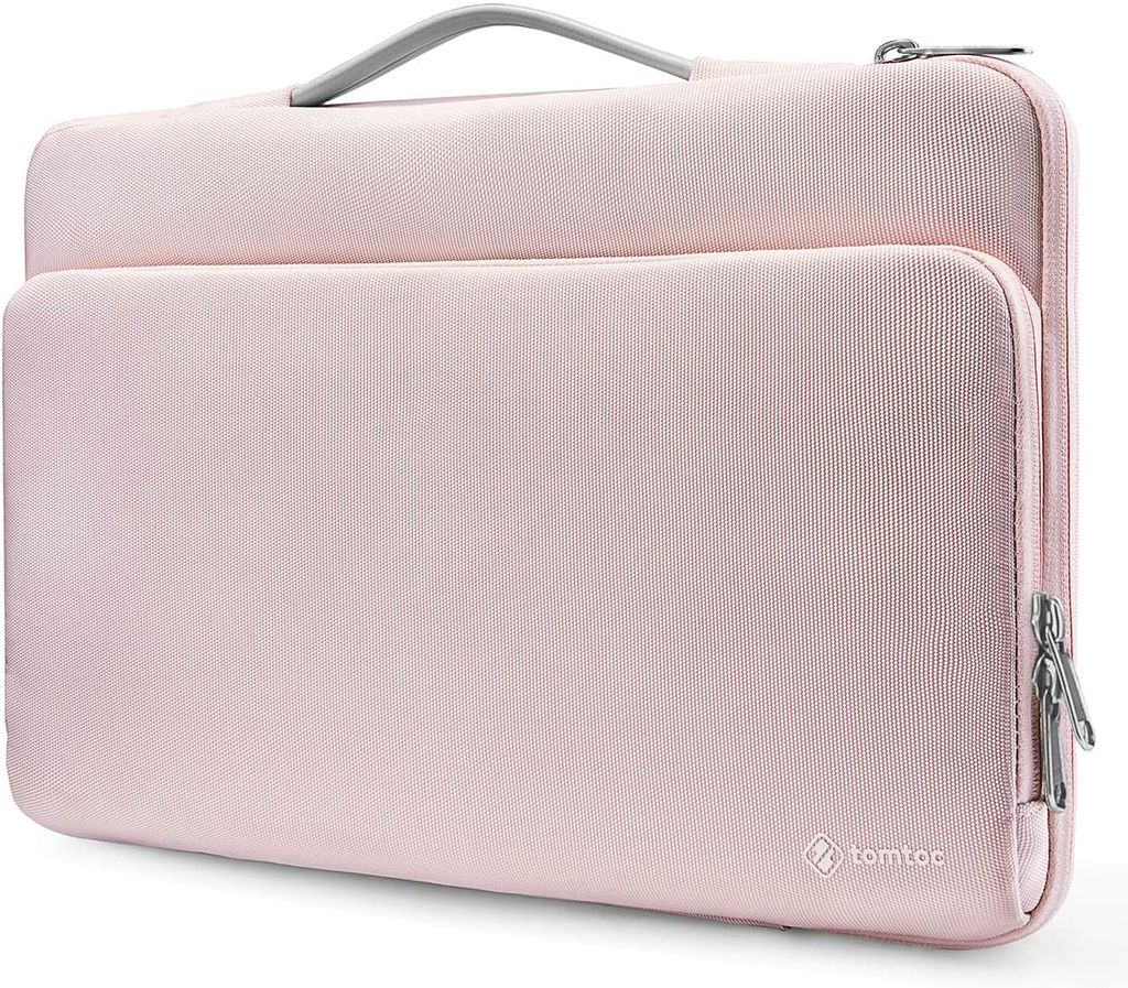 "TÚI XÁCH CHỐNG SỐC TOMTOC Briefcase MACBOOK PRO 13"" NEW PINK A14-B02C"