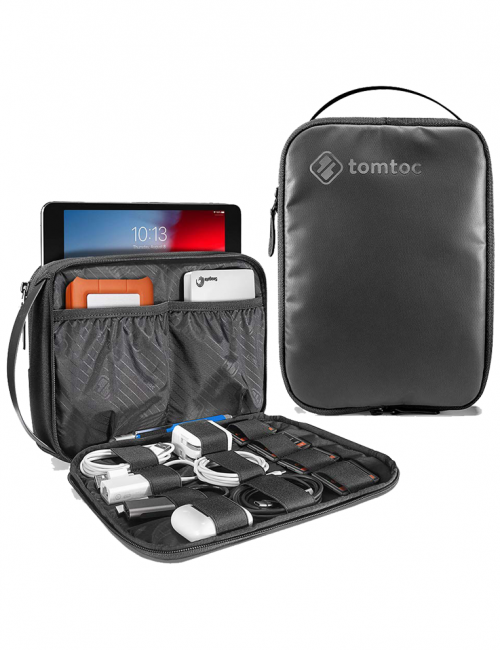 TÚI XÁCH TOMTOC (USA) ELECTRONIC ORGANIZER FOR IPAD MINI/TABLET 7.9INCH