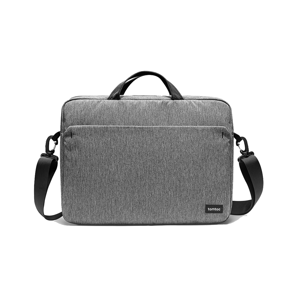 TÚI XÁCH TOMTOC (USA) SHOULDER BAG FOR ULTRABOOK 15″ GRAY A51