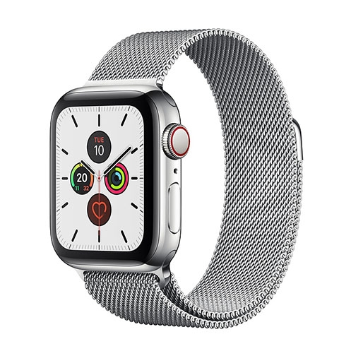 Apple Watch Series 5 Stainless Steel Case with Milanese Loop (GPS+CELLULAR)