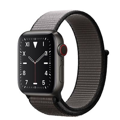 Apple Watch Edition Series 5 Space Black Titanium Case with Sport Loop (GPS+CELLULAR)