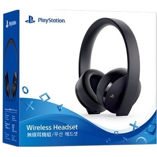 New PlayStation Gold Wireless Headset - PlayStation 4 - Version 2018